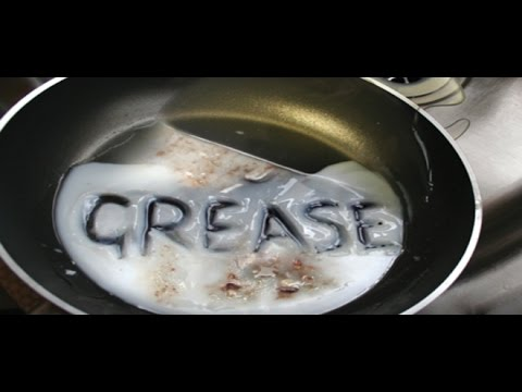 Turns out it IS grease