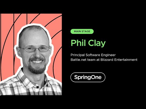 Phil Clay at SpringOne 2020