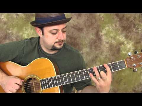 acoustic blues scale - fun, easy beginner...
