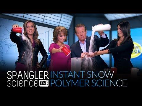 Insta-Snow - Erupting Polymer Science