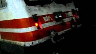 rajdhani express, shatabdi express engine wap5