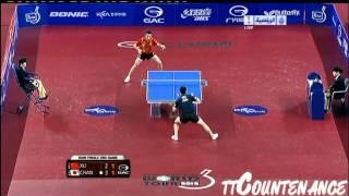 Korea Open: Xu Xin-Chan Kazuhiro