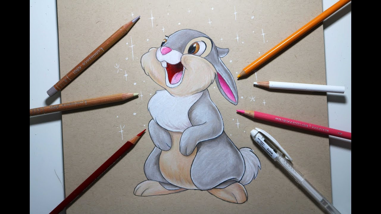 DRAWING THUMPER FROM B...