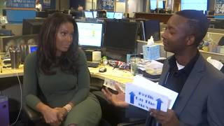 Tyrik On The Move Interview with CBS 46's Sharon Reed