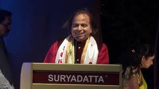 Padma Shri Taalyogi Pandit Suresh Talwalkar Ji was at SGI's 21st Foundation Day 2019