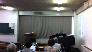 嚶鳴館講座・童謡・唱歌を歌いませんか(水谷真樹先生) 2011年6月1日