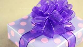 Repeat youtube video Moño Pom Pom - Puffy - How to: Gift Bows