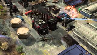 Command & Conquer Generals: Rise of the Reds v1.85 Shellmap