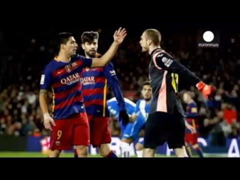 Luis Suarez banned for two Spanish cup matches