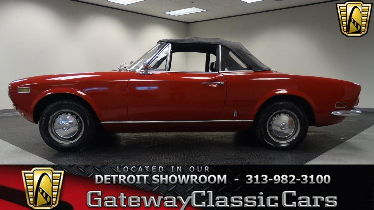 1972 Fiat Spider Youtube 1971 124 Sport
