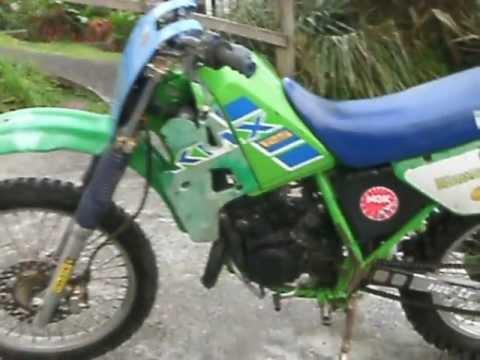 Kawasaki Kmx  Modified