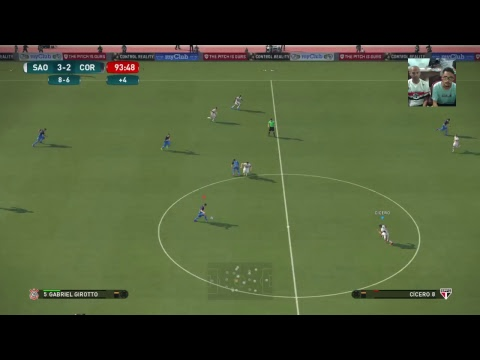 São Paulo vs Corinthians(Volta) - Copa do Brasil Virtual - Wanted Games