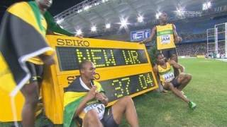 Usain Bolt leads Jamaican Relay to World Record - from Universal Sports