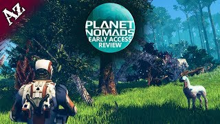 Planet Nomads Review (Early Access)