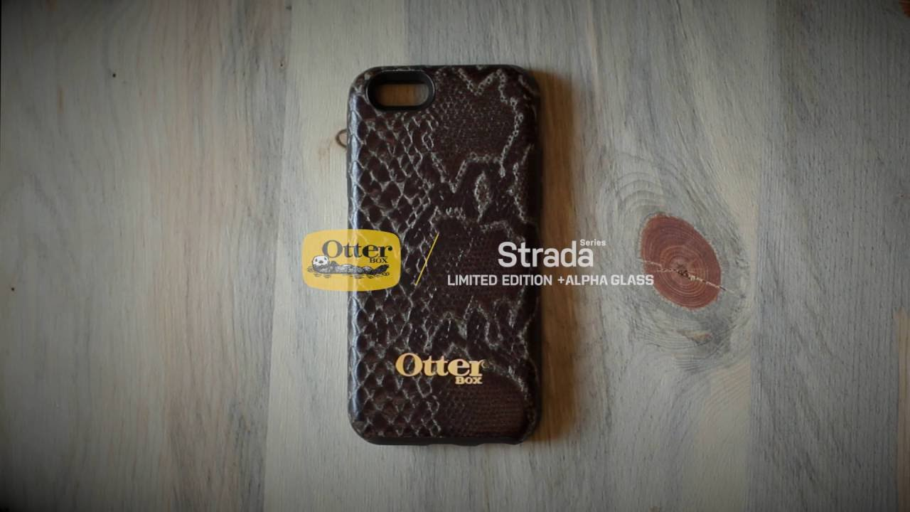 the best attitude fab72 0d2e9 OtterBox Strada Series Limited Edition w Alpha Glass