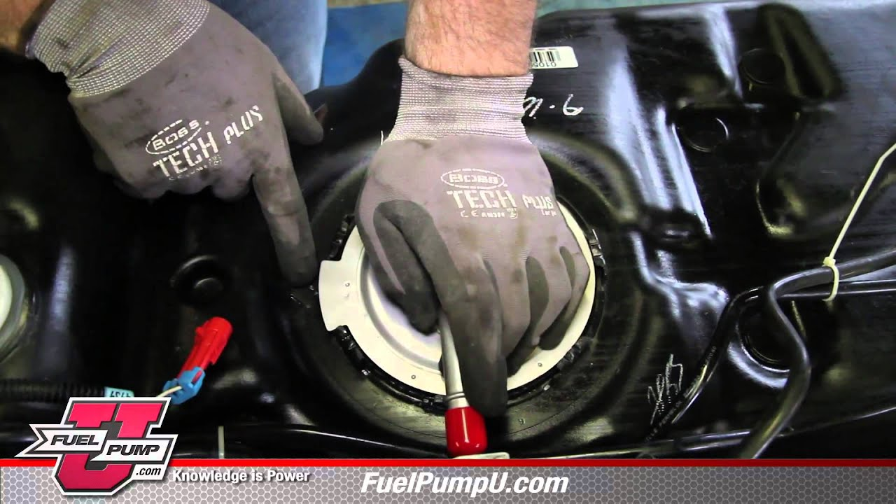 how to install fuel pump assembly e3707m in a 2005