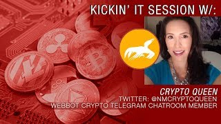 Webbot Chatroom Member Crypto Queen Talks Cryptos, Clif High, 2018's Heartaches & Hopes for 2019