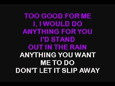 Sade - The Sweetest Taboo - Real Karaoke with lyrics