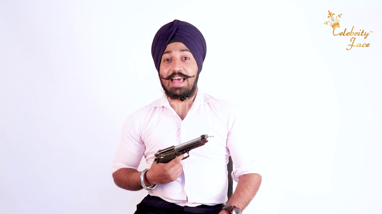 Celebrity Face & RD Productions Presents Gangster Song Cast Gurdeep Introduction