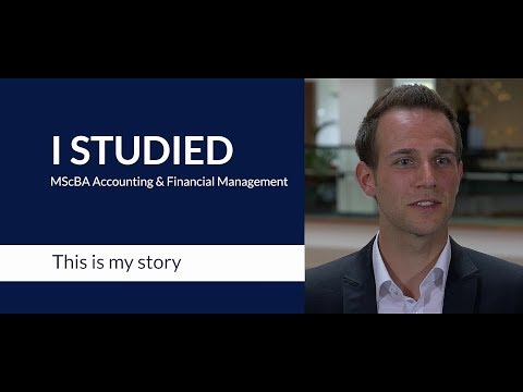 An alumnus talks about RSM's MSc in Accounting & Financial Management