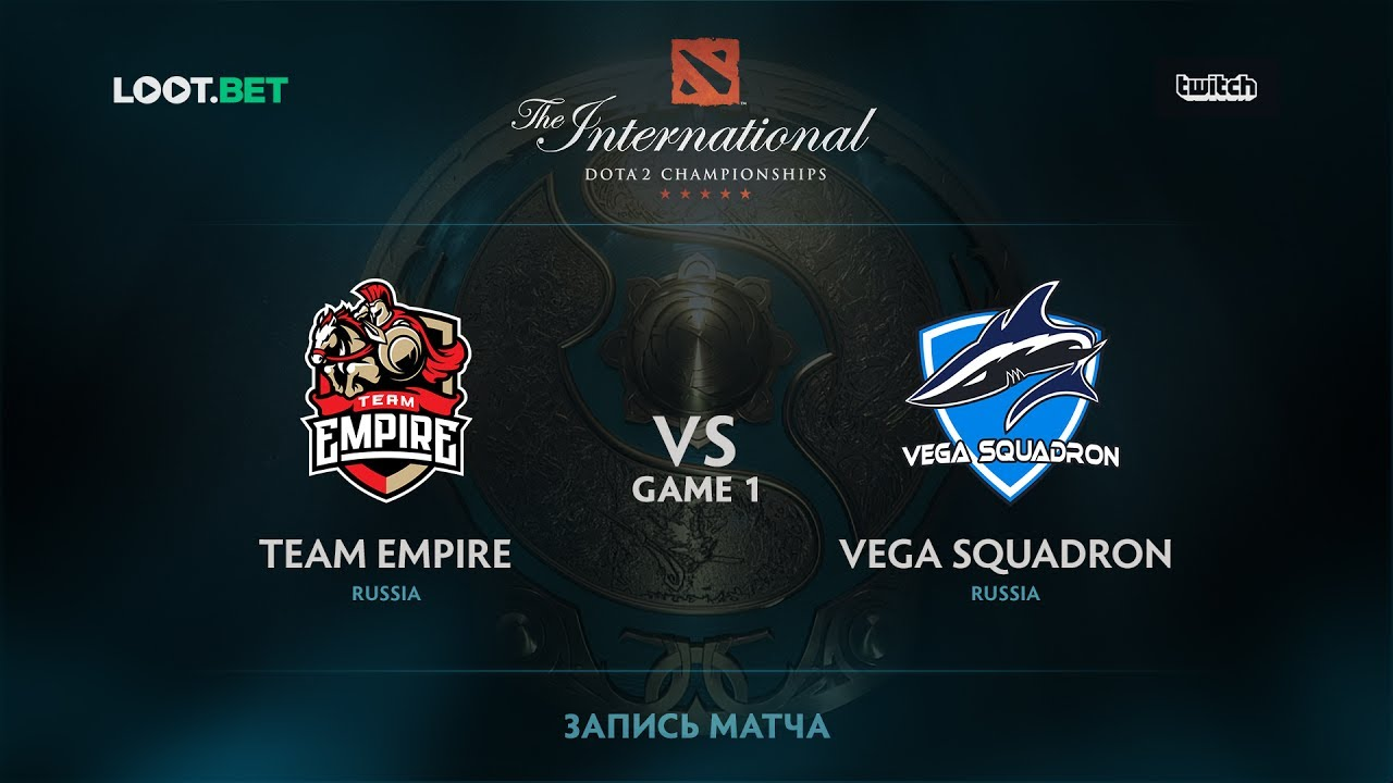 Team Empire vs Vega Squadron, Game 1, The International 2017 CIS Qualifier