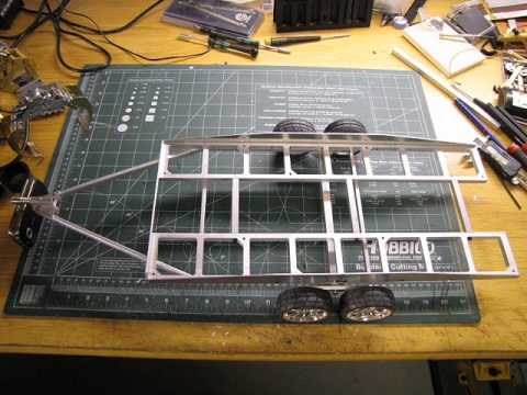 komodo 1.9 scale gmc crawler project. PART2 + RC-TRAILER