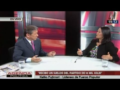 Lo que dijo Keiko Fujimori en entrevista con periodista Enrique Castillo