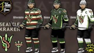 FIVE POTENTIAL NHL EXPANSION TEAMS AND CONCEPT DESIGNS!