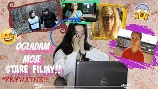Oglądam moje PIERWSZE FILMY!! *prywatne