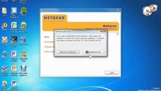 NETGEAR USB Wifi Card Install and Setup.