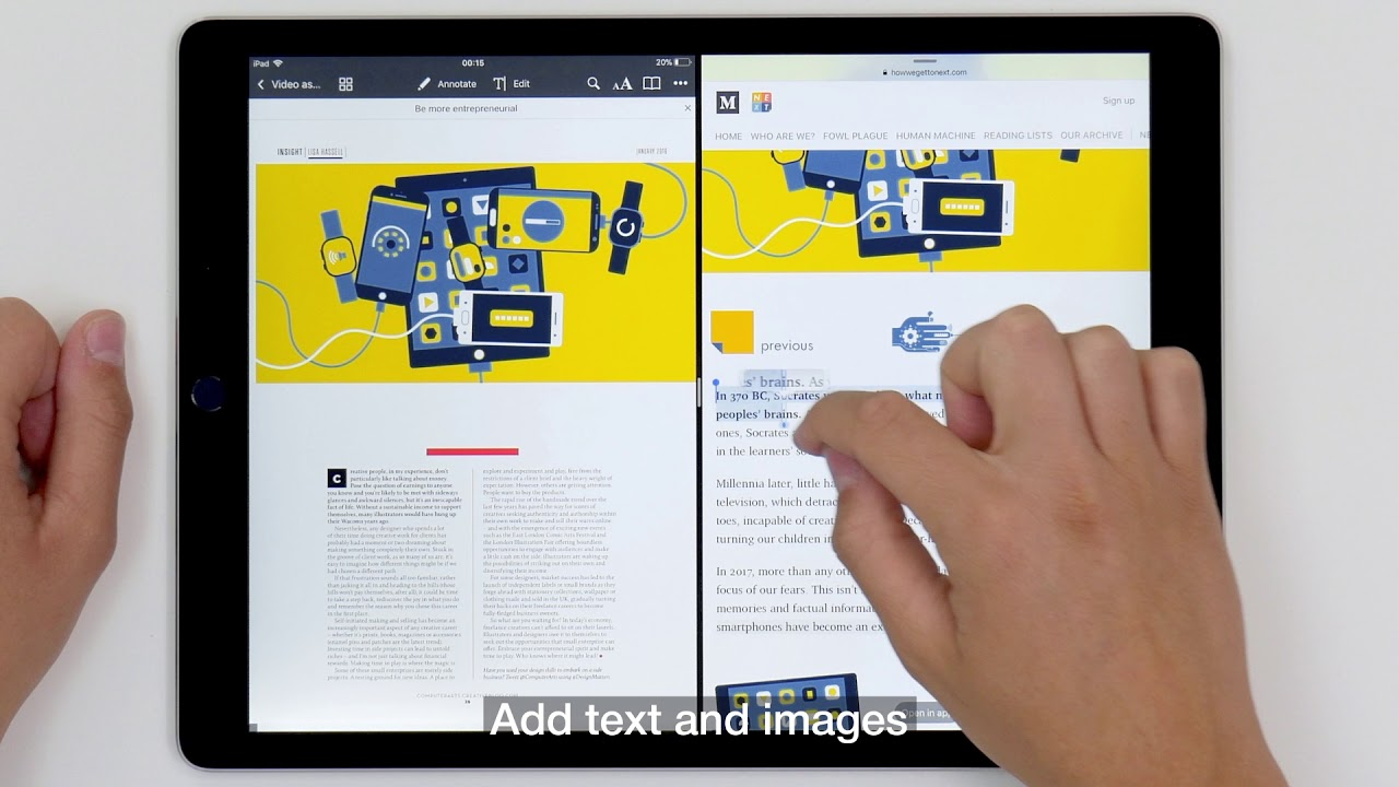 pdf expert by readdle gets amazing ios 11 update youtube rh youtube com pdf expert ipad user manual Instruction Book for iPad