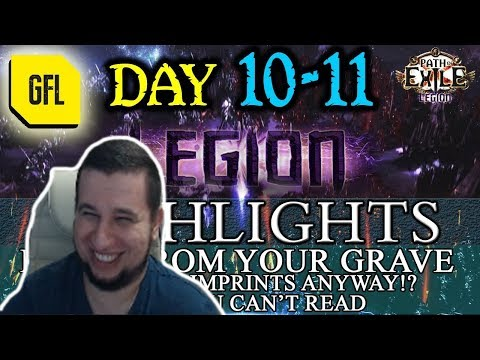 Манурин смотрит: Path of Exile 3.7: LEGION DAY # 10 - 11 Highlights STRODINGER'S BOX, RAISE FROM YOU