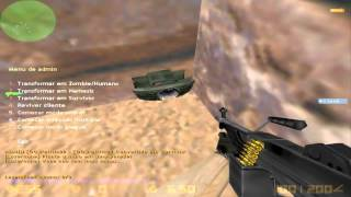 Counter-strike 1.6 NEW Zombie Bot mod (ADMIN) install Tutorial +(Download)