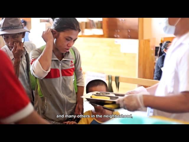 Quỹ Từ Thiện Tình Thương - Quán Nụ Cười 4 - Cơm 2.000 đồng - Food Panda - Marico