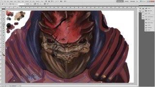 Wrex  Mass Effect | Digital Painting