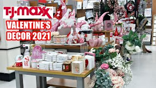 TJ MAXX VALENTINE'S 2021 DECOR GIFT IDEAS NEW FINDS! SHOP WITH ME!