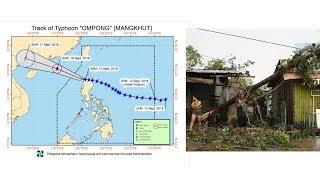 Super Typhoon Mangkhut blasts into Philippines towards Hong Kong