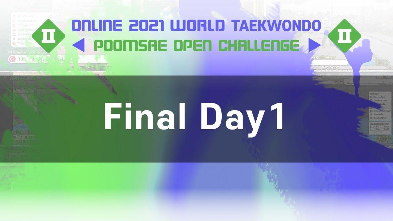 Online 2021 World Taekwondo Poomsae Open Challenge II - Final Day1