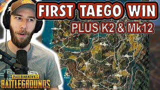 chocoTaco's First Win oฑ New PUBG Map TAEGO Plus New Guns K2 and Mk12 ft. Swagger, Bob, & DrasseL