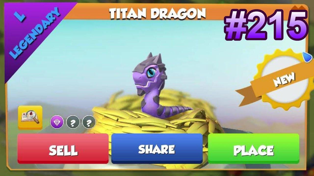 Dragon Legends: Legendary Titan Dragon Hatching!