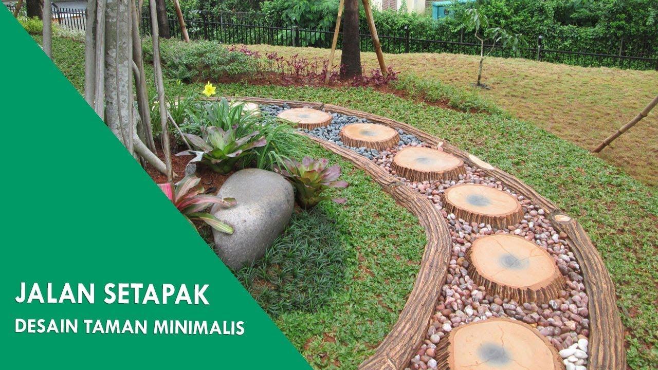 Jalan Setapak Taman Desain Taman Minimalis Youtube
