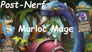 Hearthstone: Murloc Mage Post-Nerf #2: Witchwood (Bosque das Bruxas) - Standard Constructed