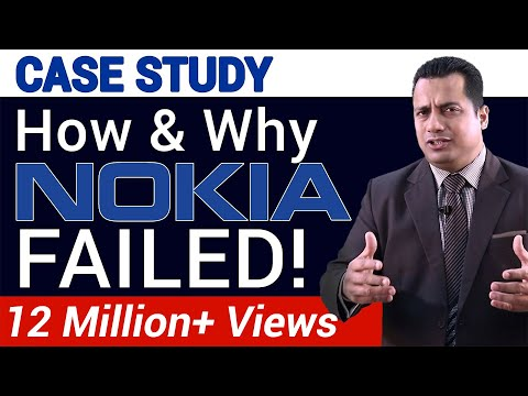 How & Why NOKIA Failed | Case Study | Dr Vivek Bindra | Part -1