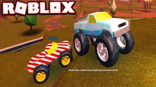 $1,000,000 MONSTER TRUCK RACES w/ Cringley!!! (Roblox Jailbreak)
