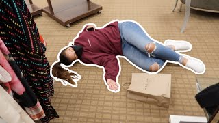 PASSED OUT AT THE MALL | SISTERFOREVERVLOGS #839