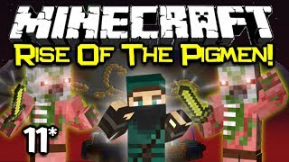 Minecraft RISE OF THE PIGMEN Adventure Map! - Let's Play! Ep 11
