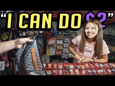 Laos Fake Night Market Spree!