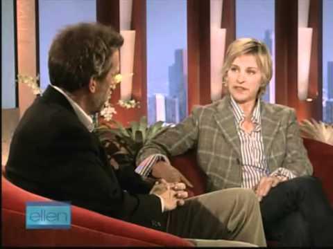 hugh laurie ellen interview polaroid