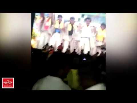 BASHA Rerelease   Rajini Fans Celebrating...