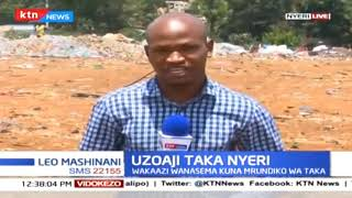 Shida ya uzoaji taka katika Kaunti ya Nyeri